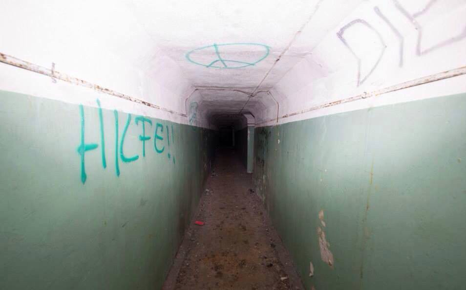 Последний коридор ГДР, бункер, германия
