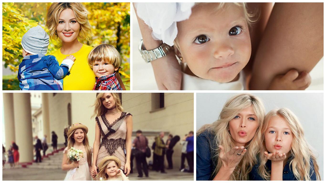 Самые красивые фото детей знаменитостей