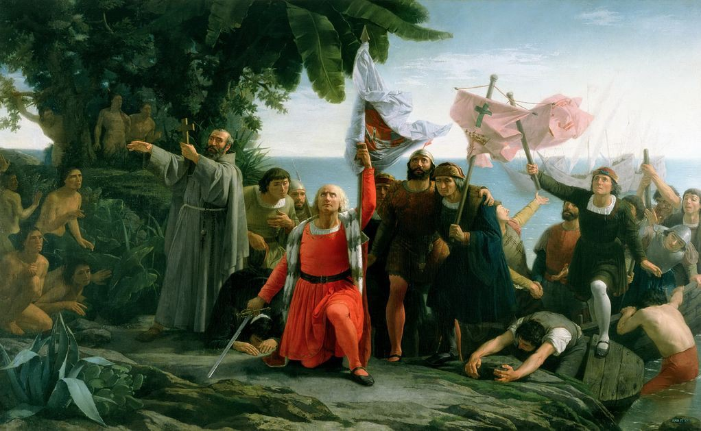 the controversies behind christopher columbus celebrated discovery of america Columbus discovers america, 1492 america sends syphilis to europe, 1493 once underway, columbus benefited from calm seas and steady winds that pushed him steadily westward (columbus had discovered the southern trades that in the future would fuel the sailing ships carrying goods to.