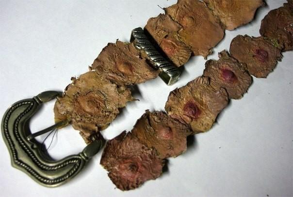 Ремень из человеческих сосков - одна из ужасных поделок принадлежащих серийному убийце и некрофилу Эду Гейну интересно, история, фото
