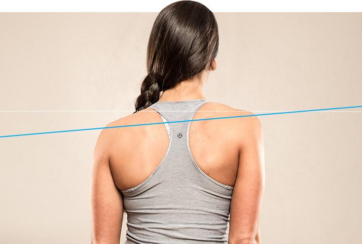 Одно плечо выше другого как исправить упражнениями