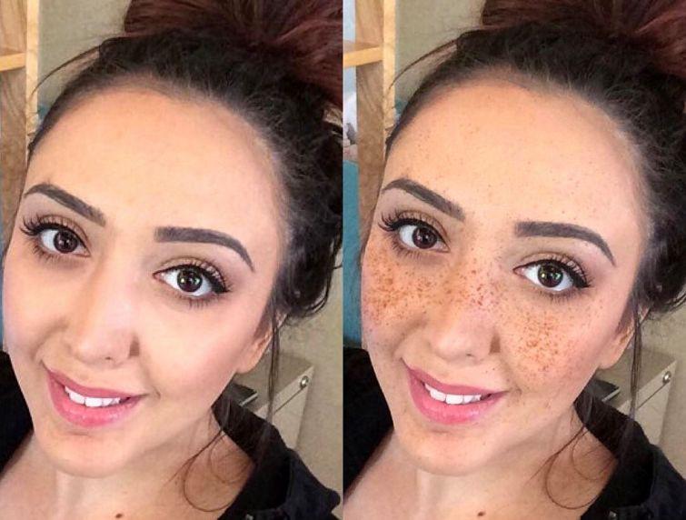 Нет веснушек — нарисуй: девушки украшают лицо поддельными веснушками, чтобы быть в тренде