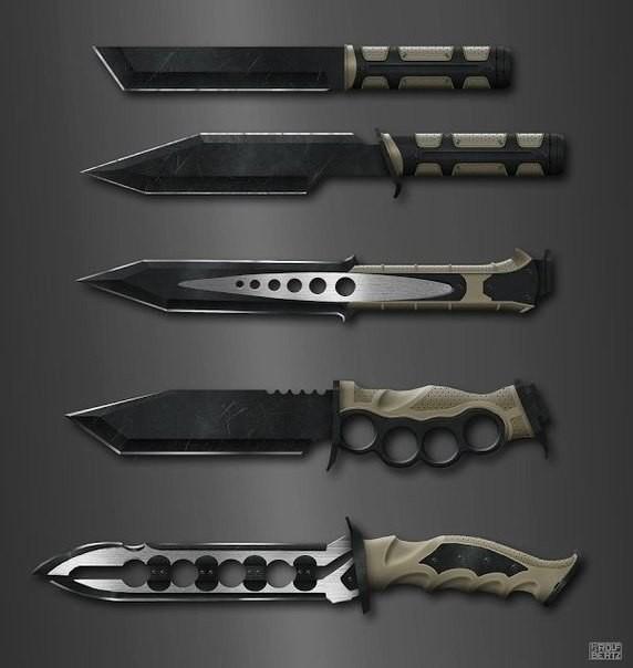 Красивое холодное оружие лук, меч, нож, сабля, холодное оружие