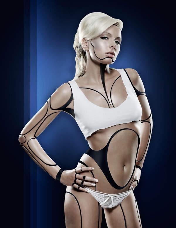Сексуальные девушки инопланетянки