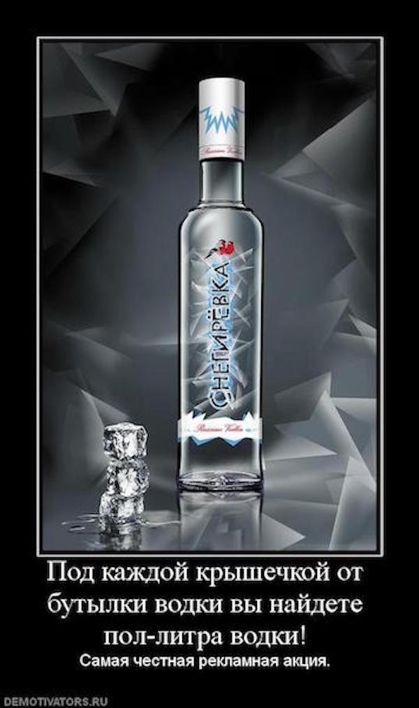 Бутылка водки картинка прикольная