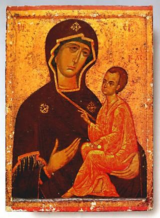 4.Тихвинская икона Божией Матери