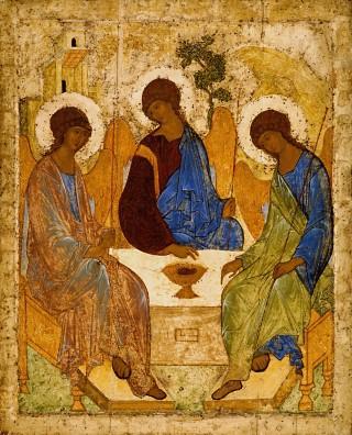 2. Икона «Троица»