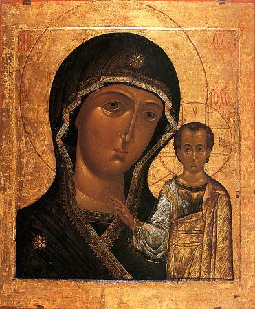 3. Казанская икона Божьей Матери