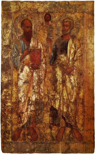 27. Икона Апостолы Пётр и Павел