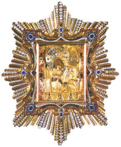 25. Почаевская икона Божией Матери