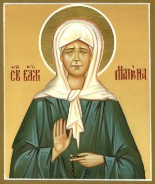 16. Икона Святой Матроны Московской
