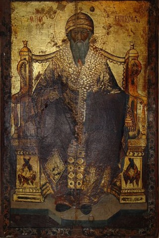 19. Икона Святителя Спиридона Тримифунтского