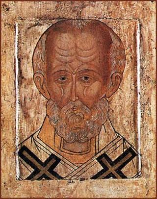 12.Святой Николай (Угрешская икона)