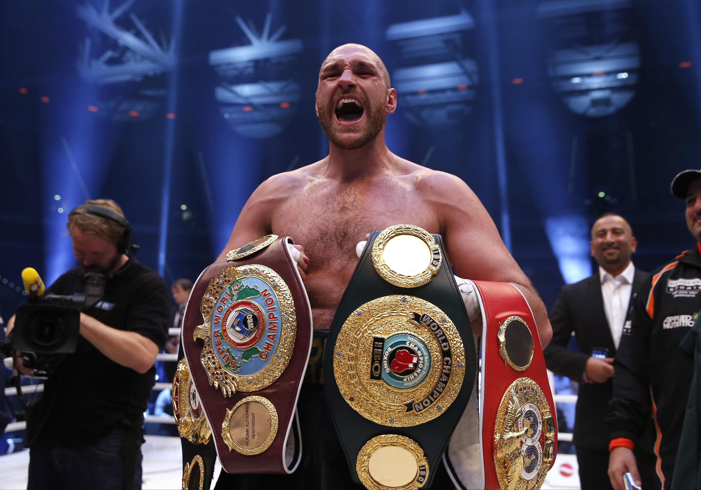 Кличко проиграл  все свои чемпионские пояса бокс, кличко