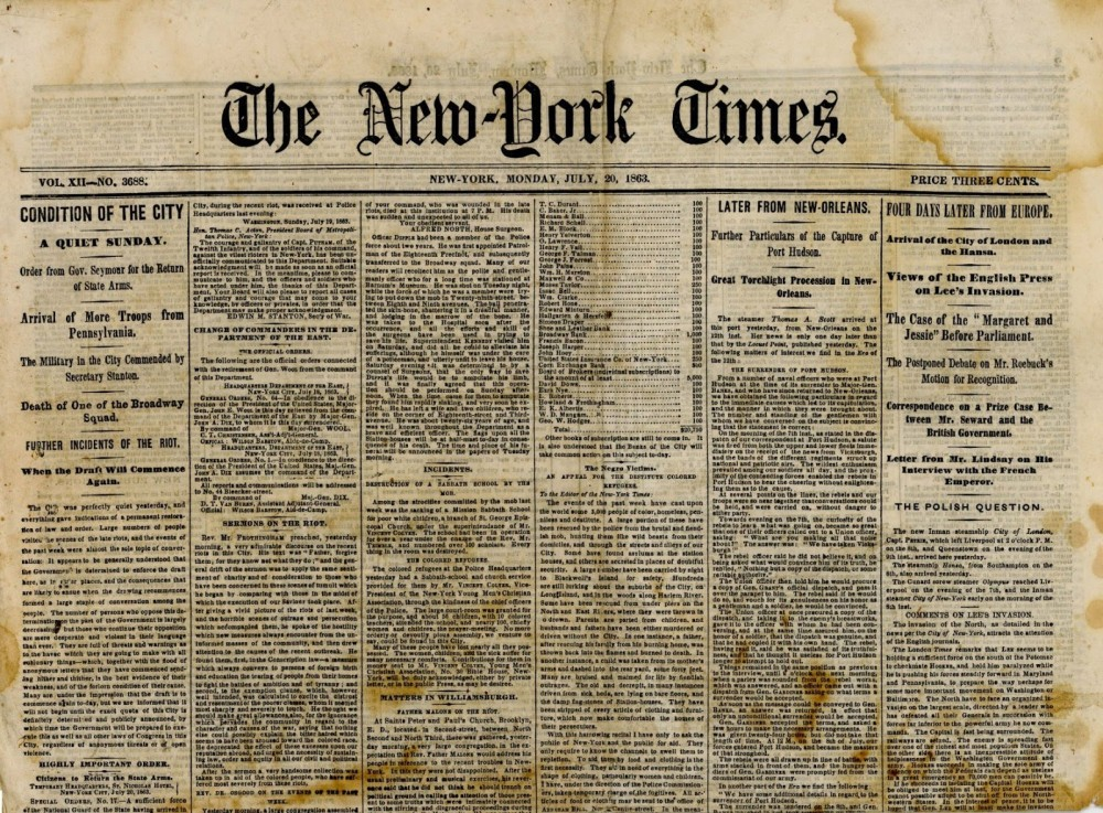 a history of the newspaper Newspapers first appeared in europe in the mid-17th century they evolved gradually from a similar type of publication called a broadsheet—a single sheet of paper that responded to unusual events.