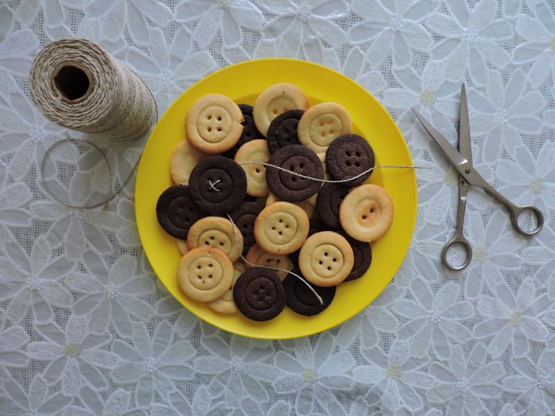 печенье пуговицы рецепт с фото пошагово