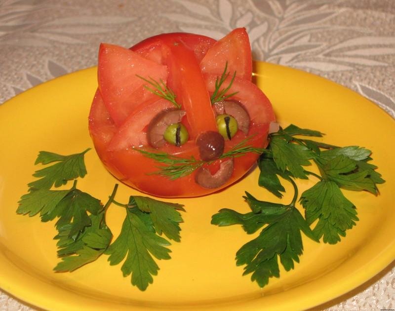 Шедевры из овощей своими руками