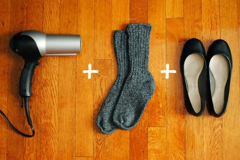 1.  Растягиваем балетки идея, обувь, советы