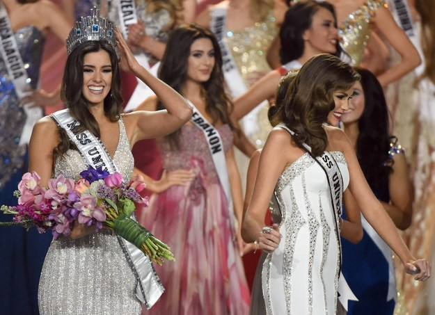 """В воскресенье вечером состоялся 64-й ежегодный конкурс """"Мисс Вселенная""""."""