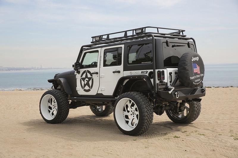 5. Еще один Wrangler от Forgiato Wrangler, jeep, авто, внедорожники, джип, тюнинг