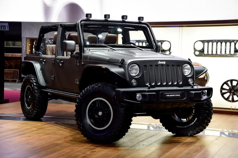 2. Jeep Wrangler Unlimited Rubicon от Stealth Study Wrangler, jeep, авто, внедорожники, джип, тюнинг