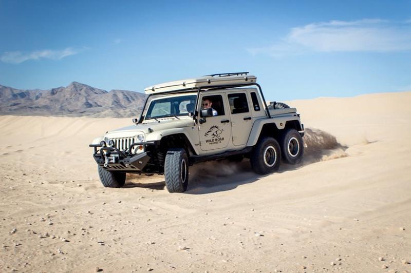 7. Jeep Wrangler JK6 Wheeler Wrangler, jeep, авто, внедорожники, джип, тюнинг