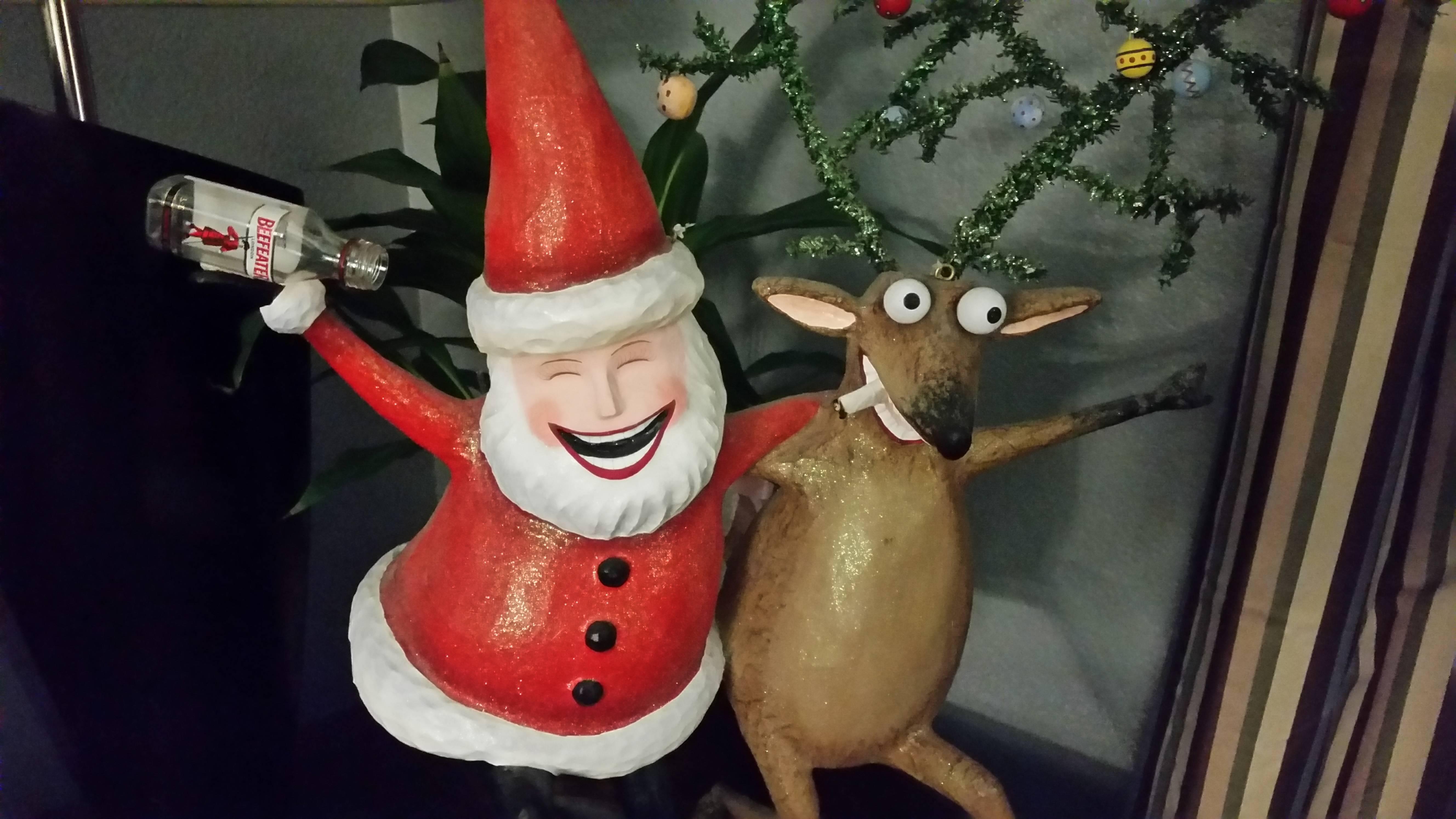 картинка прикол новогоднее настроение наблюдения детьми
