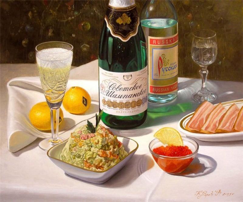 Филипп Кубарев, «Новый год» новый год, художник
