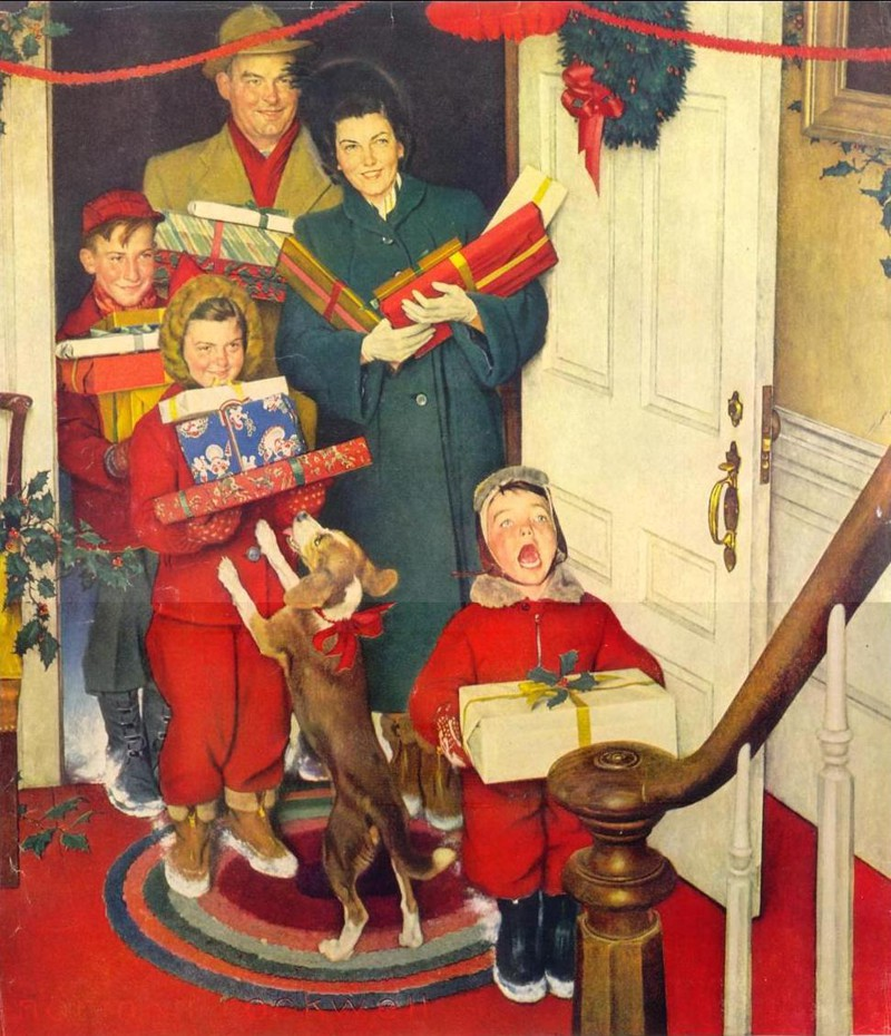 the model family in works of norman rockwell Model in norman rockwell's 'rosie the riveter' dies april 22, 2015 1 1253 share on facebook tweet on twitter the good folks at the rosie the riveter wwii.