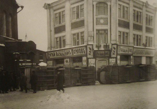 Декабрьское вооруженное восстание в Москве, баррикада на Каланчевской площади, 1905 год интересно, история, фото