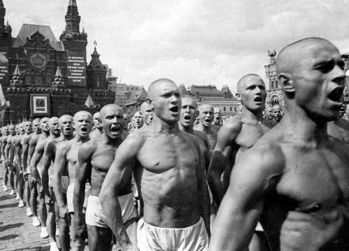 Всесоюзный парад физкультурников на Красной площади, 1937 год интересно, история, фото