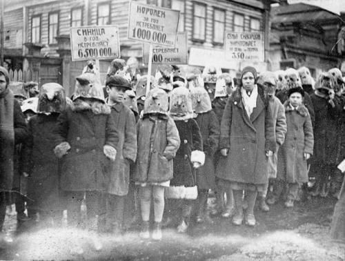 Демонстрация в защиту полезных птиц, 1934 год  интересно, история, фото