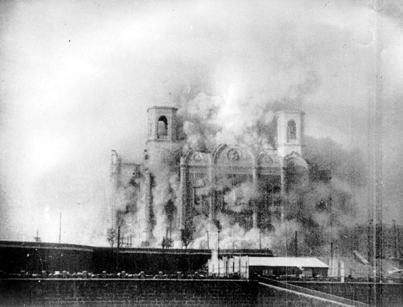Снос храма Христа Спасителя, 1931 год интересно, история, фото