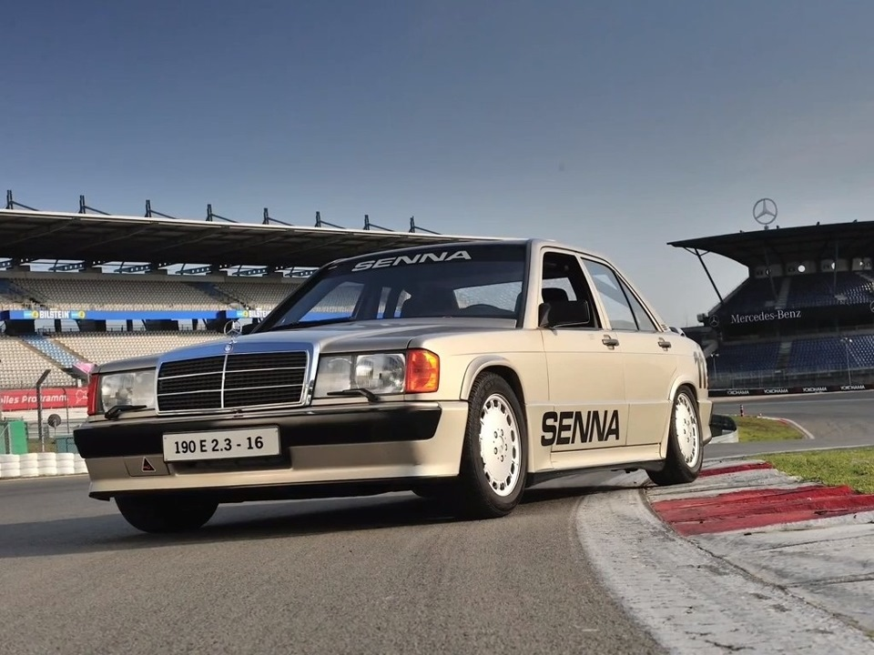 Победный Mercedes-Benz 190E Cosworth Айртона Сенны