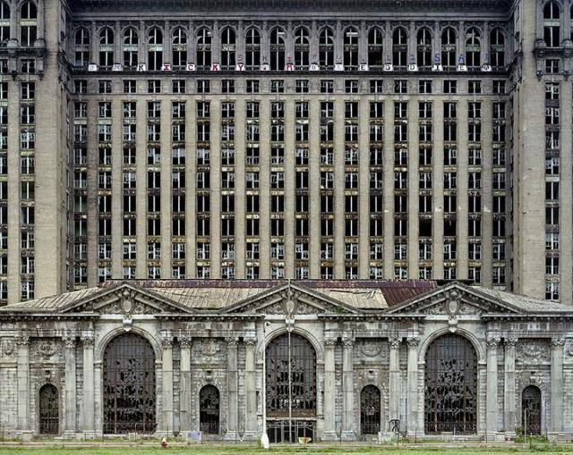 16.  Michigan Central Station, вокзал, железная дорога, заброшенные места