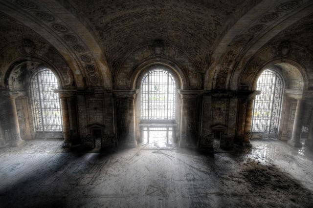 17.  Michigan Central Station, вокзал, железная дорога, заброшенные места