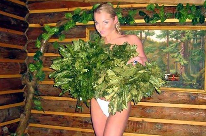 Любите ли вы баню так, как любит ее Анастасия Волочкова? баня, волочкова