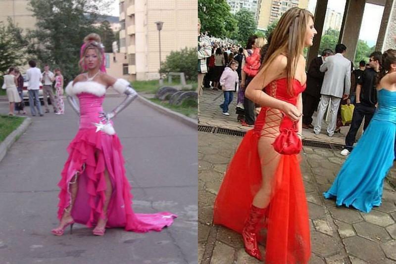 23 провальных выпускных платья, которые долго еще будут сниться всем в кошмарах выпускной, платье