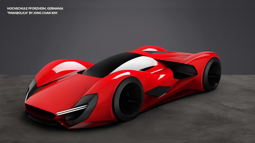 Ferrari в 2040-м году - финалисты конкурса дизайнеров ferrari, автодизайн, дизайн, концепт