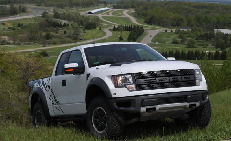 19) Ford F-150 SVT Raptor ford, история
