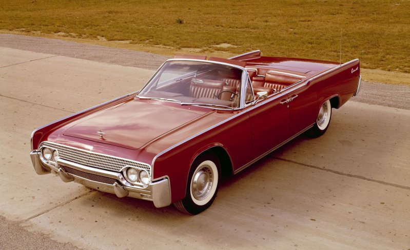 17) 1961 Lincoln Continental ford, история