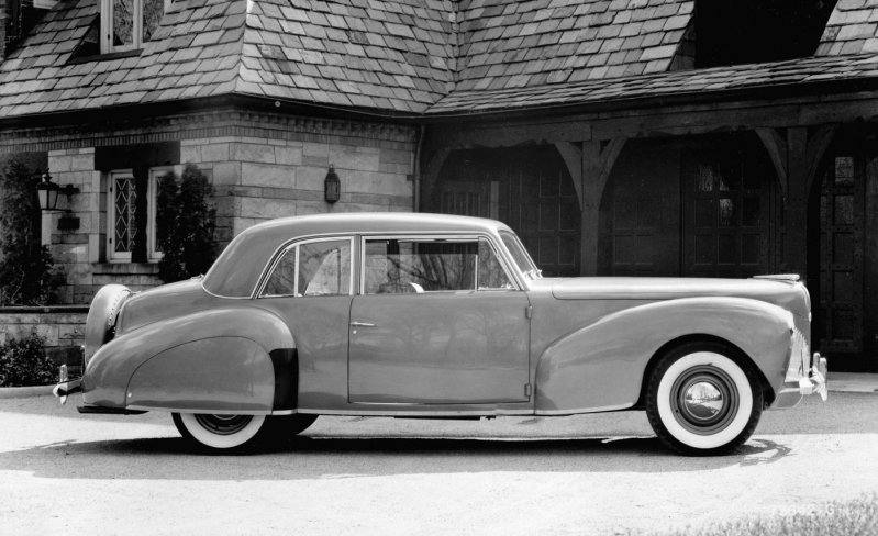 15) 1939 Lincoln Continental ford, история