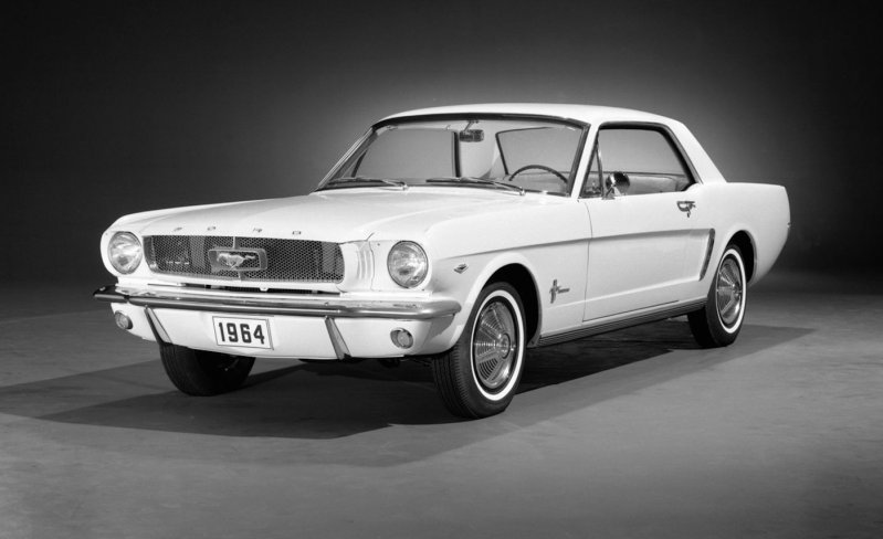 4) 1964/1964.5/1965 Ford Mustang ford, история