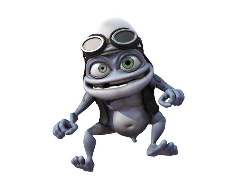 12. Crazy Frog и его странный маленький пенис 2000-е, мода, тогда и сейчас