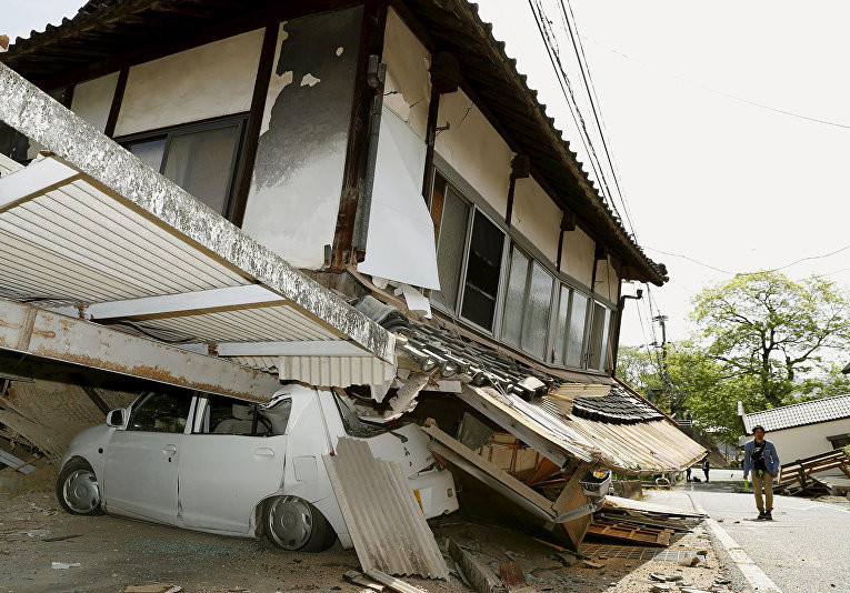earthquakes in japan Northeastern japan escaped relatively unscathed tuesday from the strongest earthquake to strike the region since a devastating and deadly temblor in 2011.