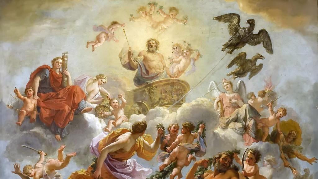 Картинки мифы древней греции боги