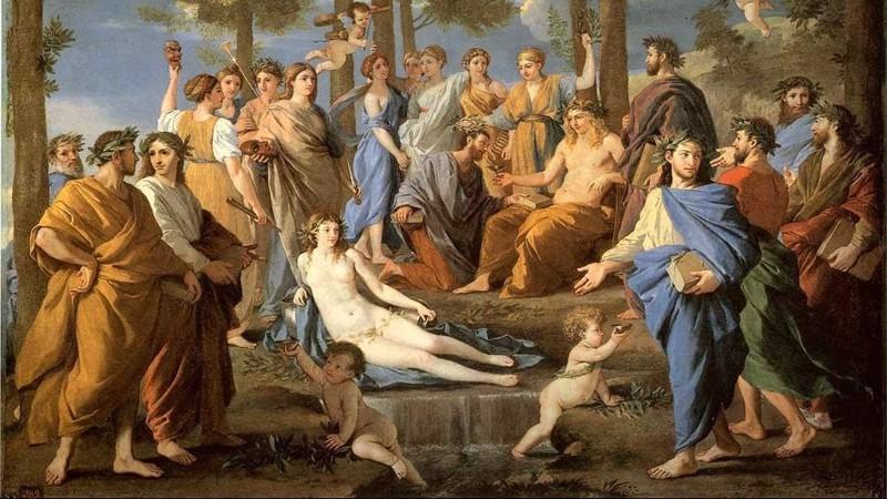 Видео про богов на олимпе секс