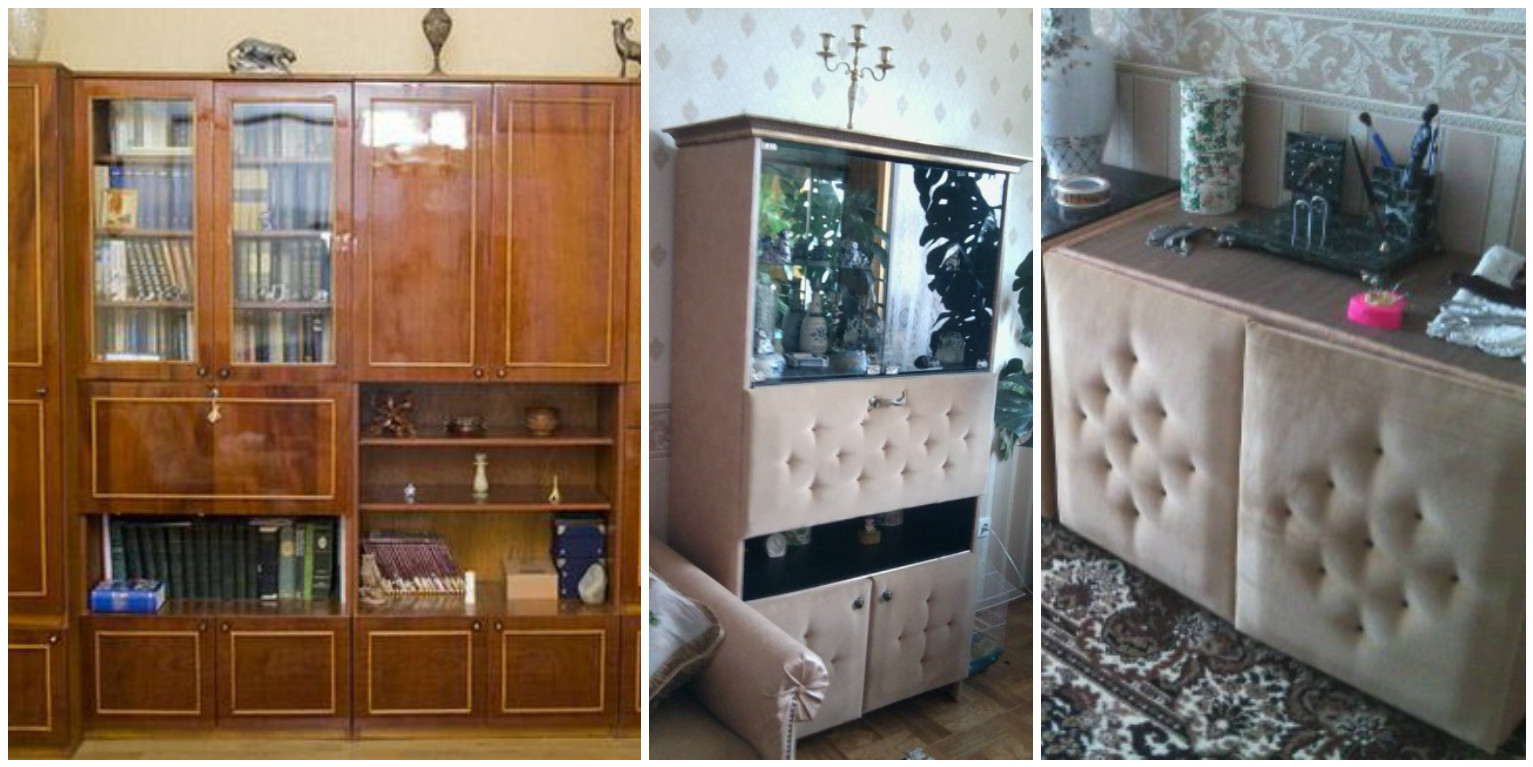 Новый интерьер из старой мебели: вдохновляемся! - полезно зн.