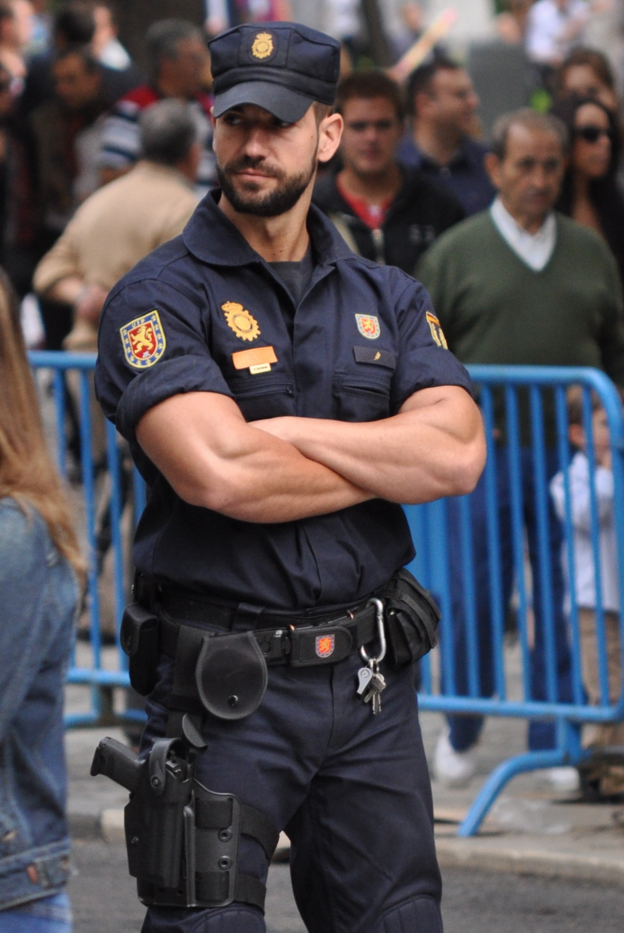 Накаченные полицейские посмотреть фотки