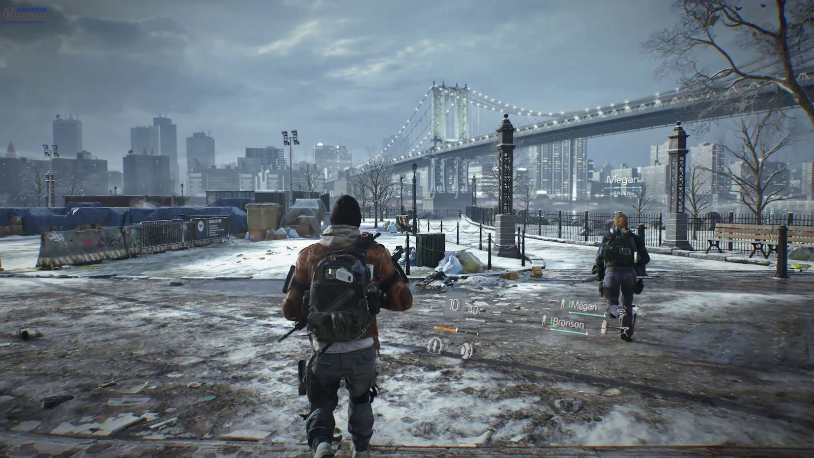 6. Tom Clancy's The Division.
